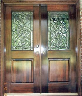 Custom interior door for gospel songwriter singer micheal v mckay