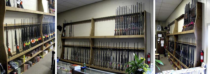 how to build a closet gun rack