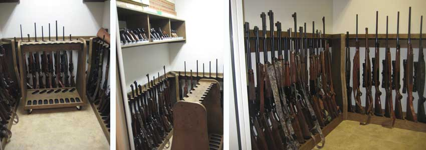... Gun Racks Quality rotary gun racks , quality pistol racks - custom gun