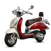 Free shipping BMS heritage 150cc scooter