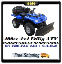 400cc Sportman - Fully Loaded Utility ATV - Free Shipping!