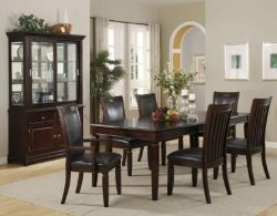 Walnut Dining Room Table - Formal Dining Sets - Quality Dining Room Table and Chairs - LaPorta Furniture - Discount Online Furniture Store