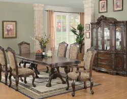 7-Piece Cherry Dining Room Set - Dining Room Table - China Cabinet - Hutch - Discount Online Furniture