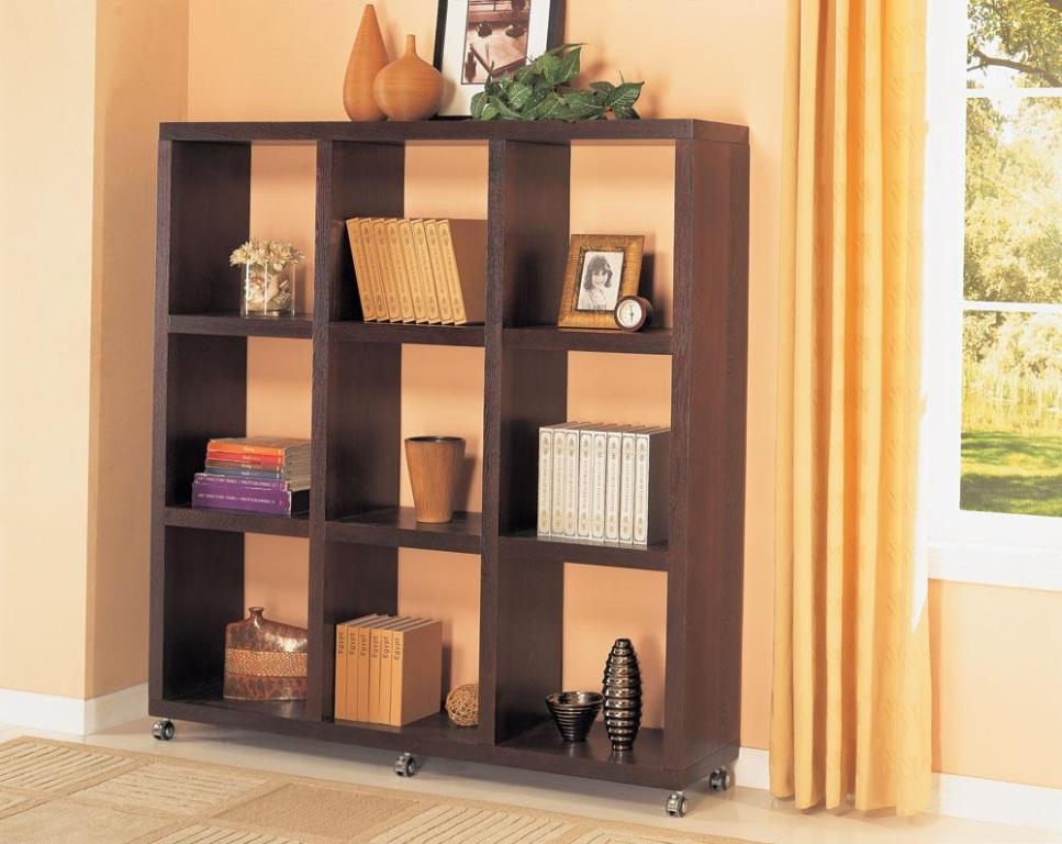 Solid Wood Square Open Bookcase
