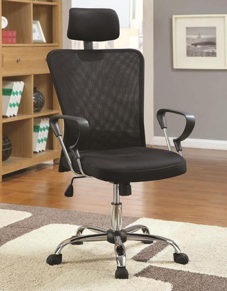 Black Mesh fice Chair