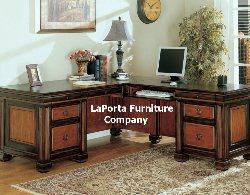 L-Shaped Desks - L Shaped Computer Desks - Home Office L Shaped Desks - LaPorta Furniture- Online Discount Furniture