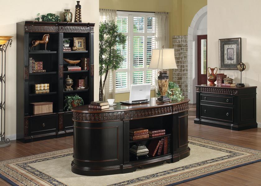 Niconi Oval Executive Office Desk
