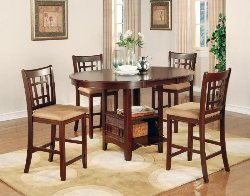 counter height dining tables real wood dining tables counter height dinette sets discount - Counter Height Table And Chairs