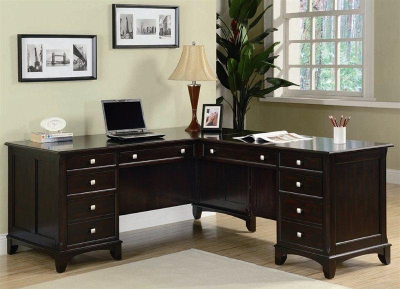 Garson L Shaped Office Desk